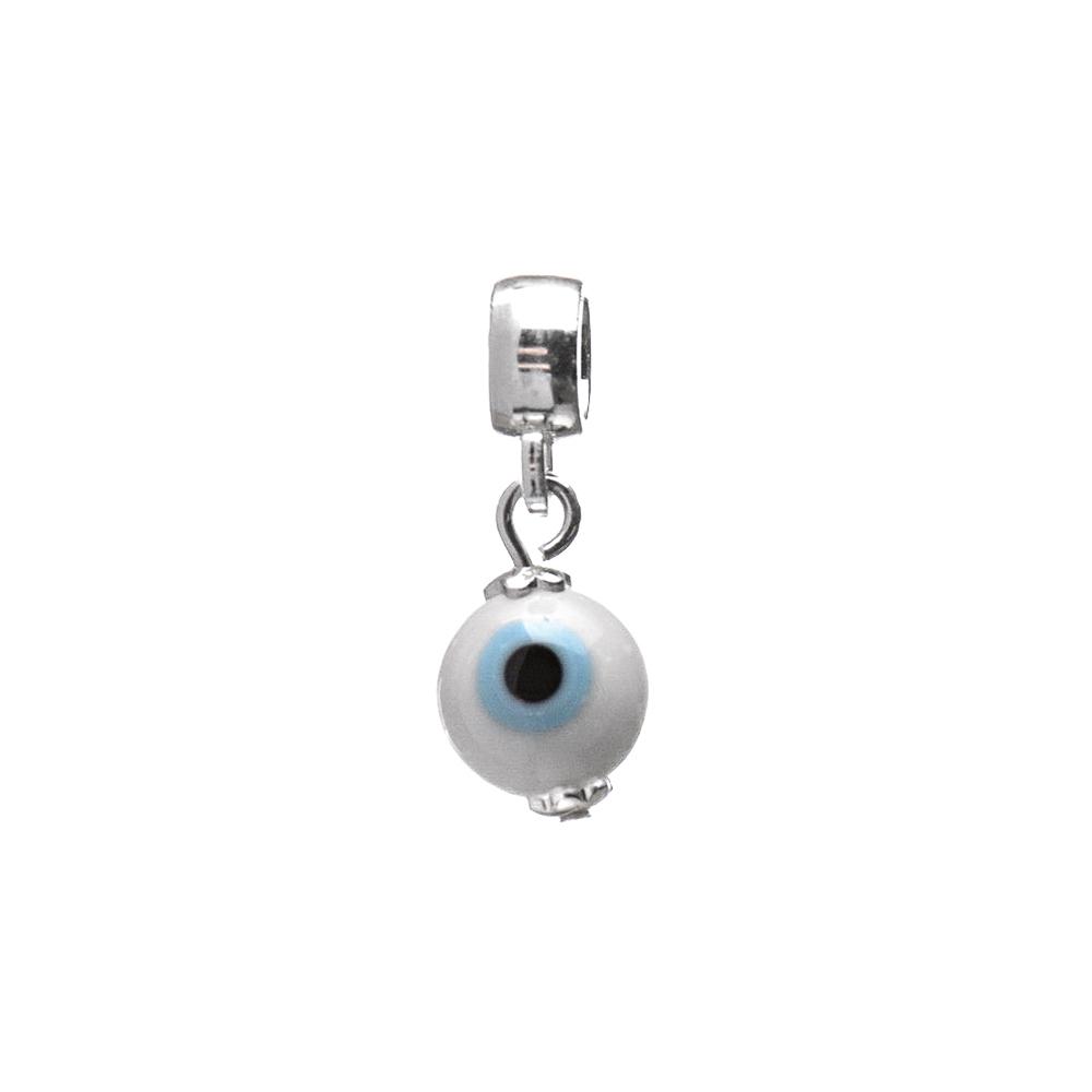 Kit Pulseira Maleável com Berloque Olho Grego