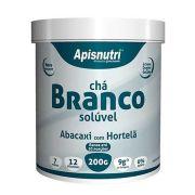 Chá Branco 200g com Colágeno Sabor Abacaxi c/ Hortelã