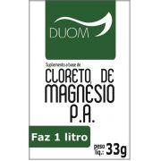 Cloreto de Magnésio Sache 33 g Duom