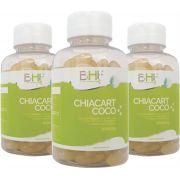 Kit  Cart-Chia-Coco com c/3 Potes de 120 cápsulas.