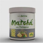Matchá com Colágeno Solúvel - Sabor Abacaxi c/Hortelã