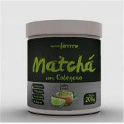 Matchá com Colágeno Solúvel - Sabor Limão