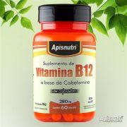 Vitamina B1 (Tiamina) 280mg c/60 cápsulas Apisnutri