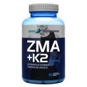 Zma + K2 1100mg c/90 cápsulas - Global Suplementos