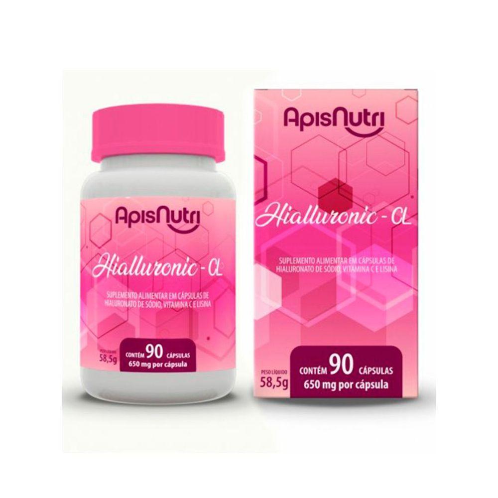 Ácido Hialurônico Apisnutri c/90 capsula