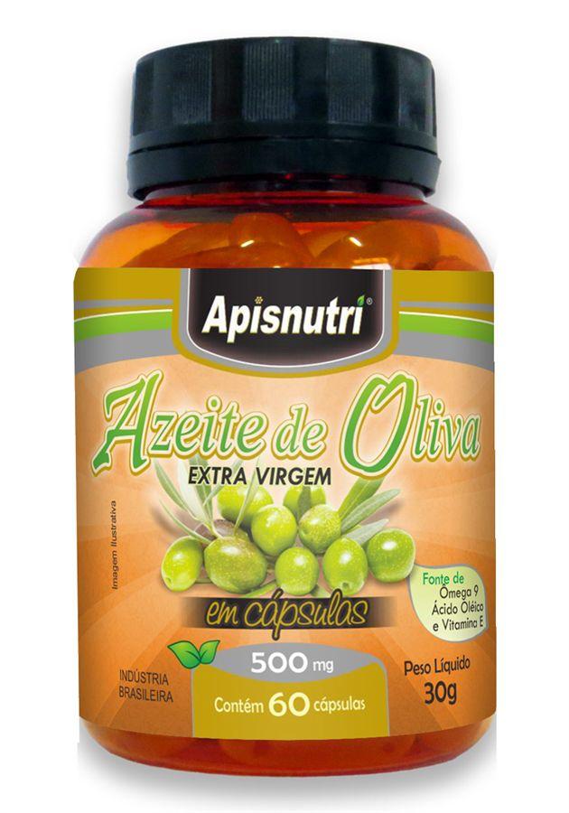 Azeite de Oliva 500 mg c/60 cápsulas