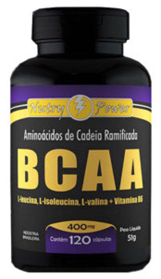 BCAA 400mg c/120 cápsulas Apisnutri