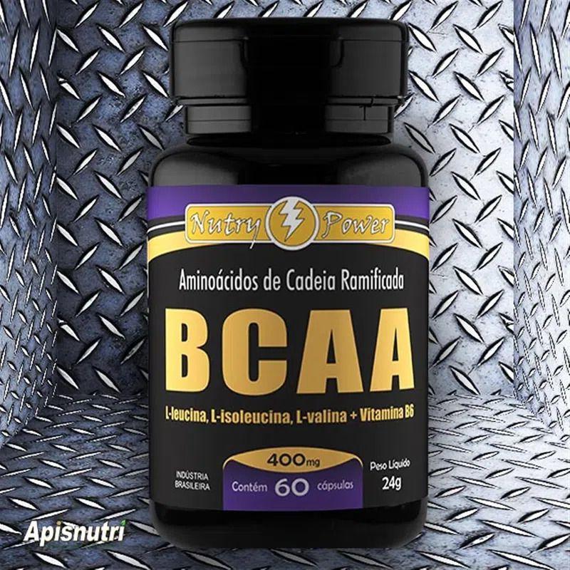 BCAA 400mg c/60 cápsulas