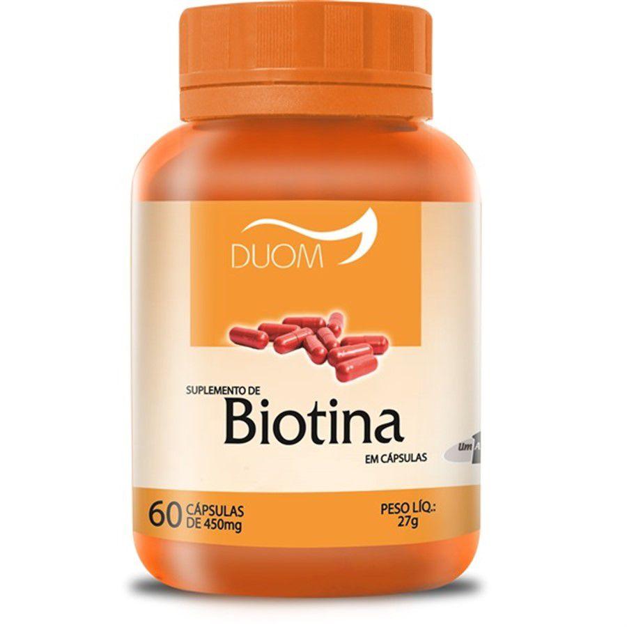Biotina c/ 60 cap Duom