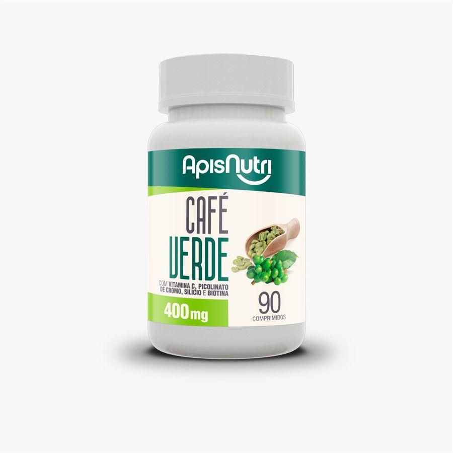 Café Verde Apisnutri. 400mg - 90 comprimidos