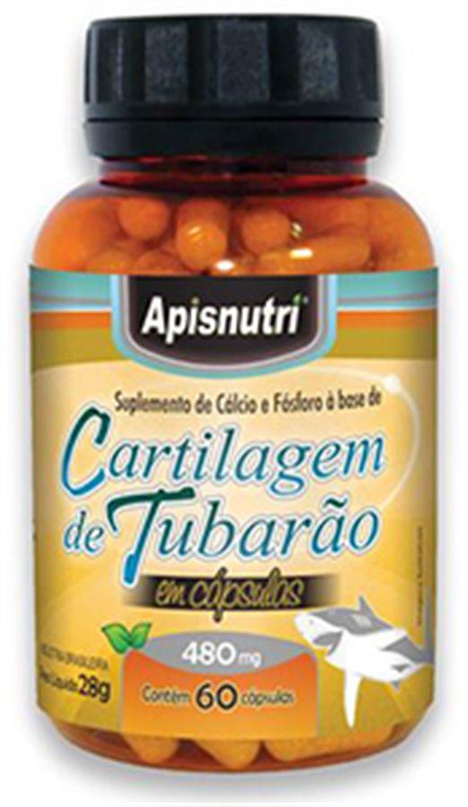 Cartilagem de Tubarão 480 mg c/60 cápsulas