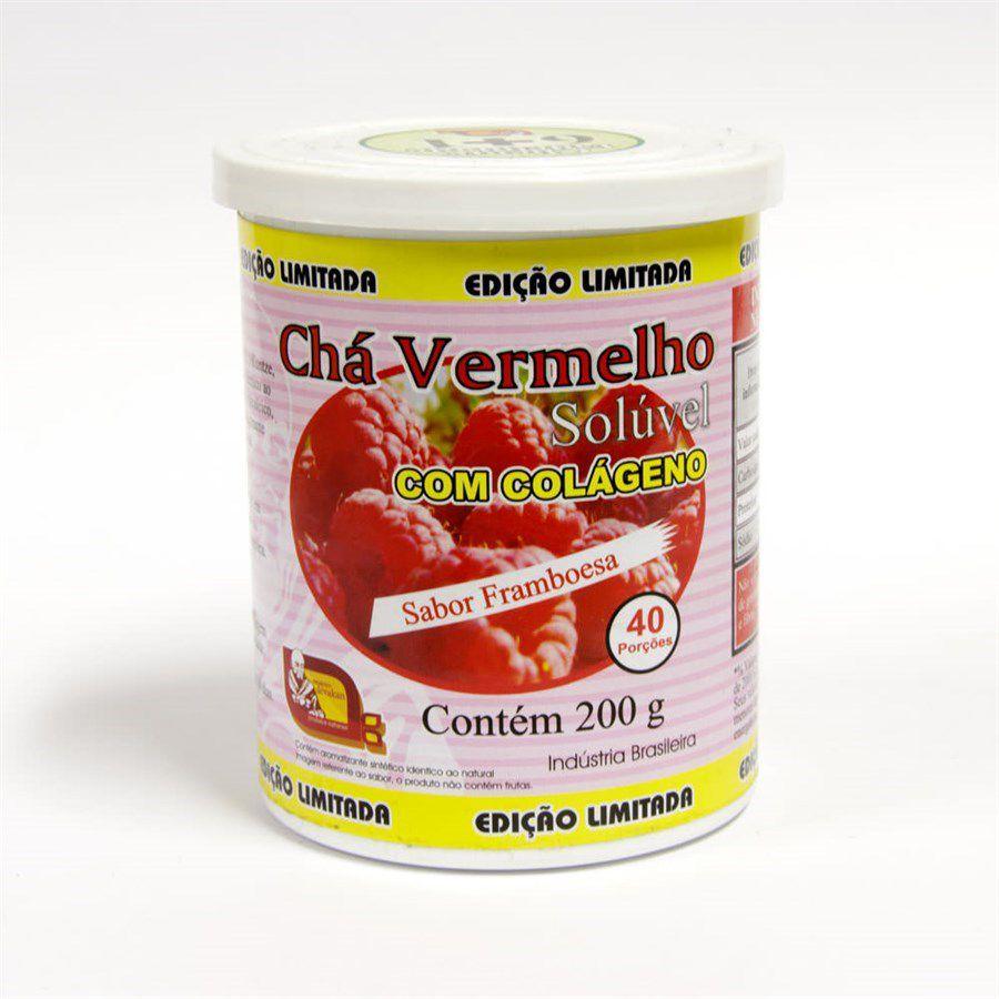Chá Vermelho Sabor Framboesa 200g