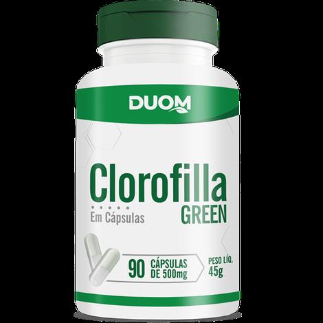 Clorofilla c/90 capsulas de 500 mg  DUOM