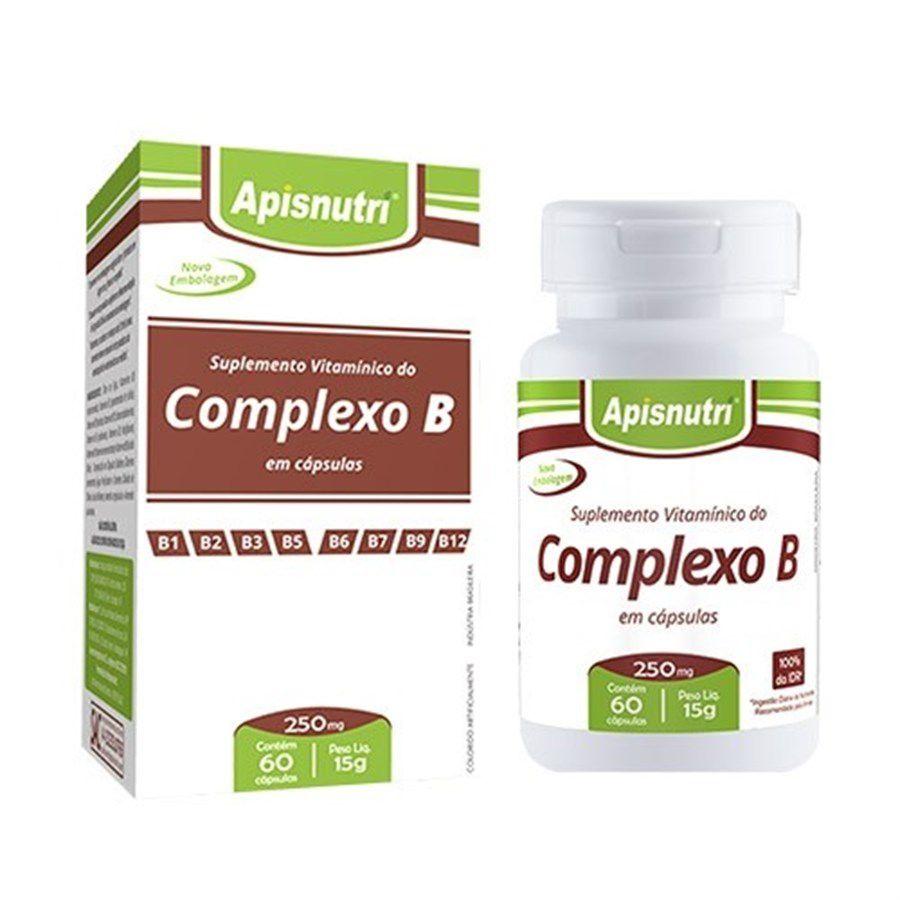 Complexo B 250mg Oil c/60 cápsulas