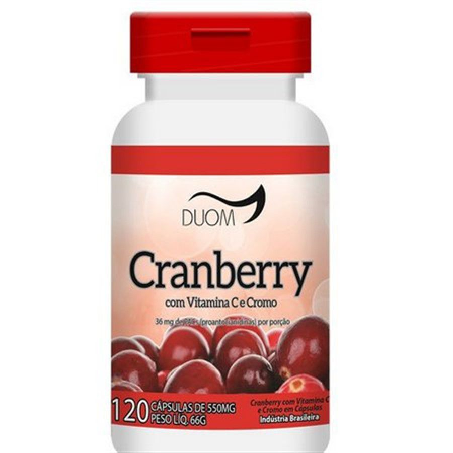 Cranberry 550mg 120 caps Duom
