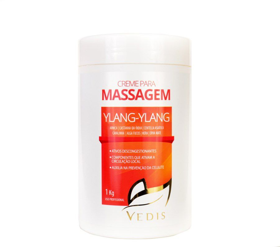 Creme para Massagem Ylang-Ylang 1000g