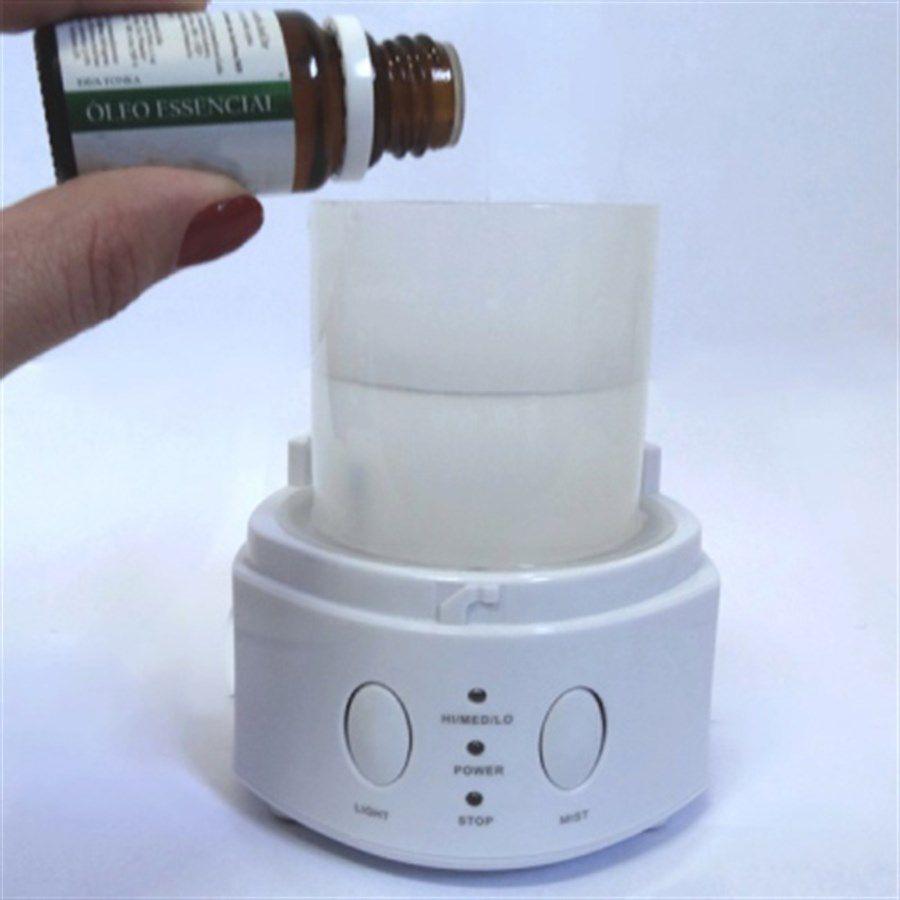 Difusor de Aroma White Elétrico 5 em 1