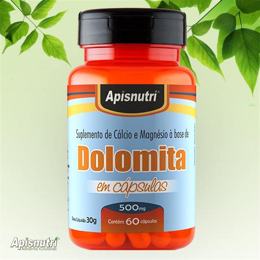 Dolomita 500 mg c/60 cápsulas