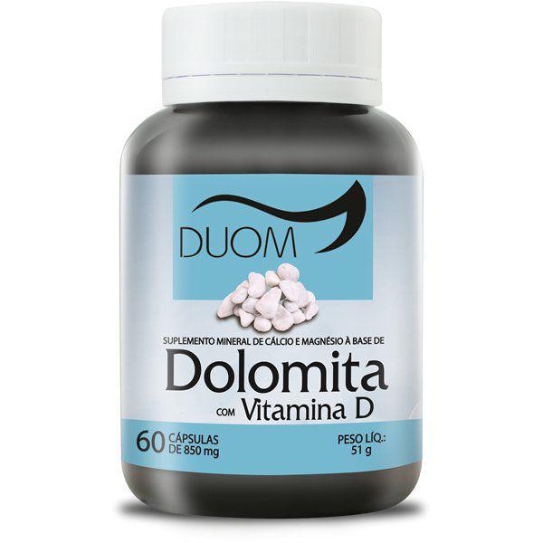 Dolomita c/Vitamina D 120 caps Duom