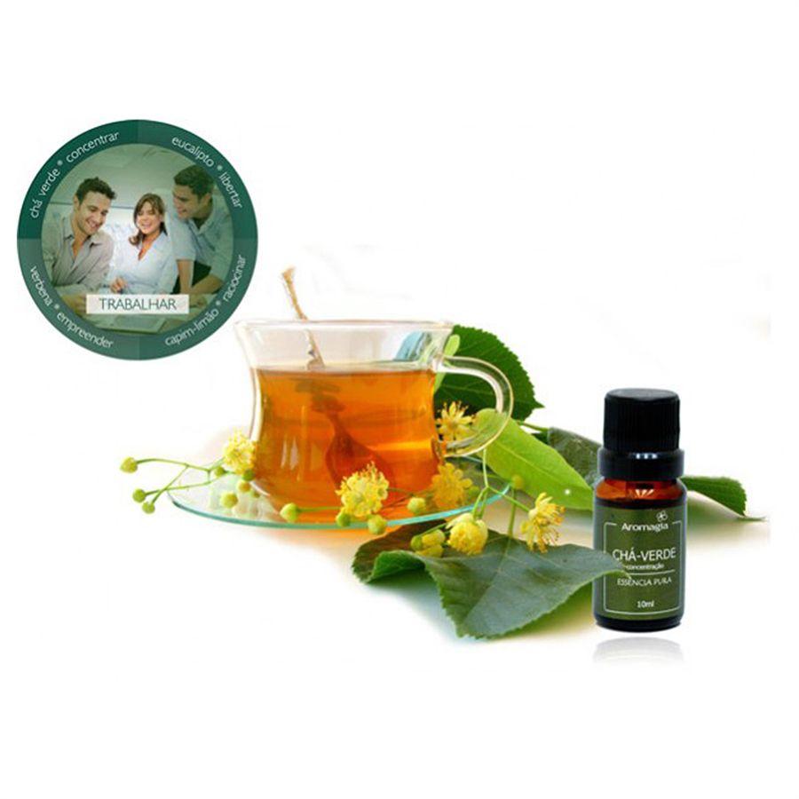 Essência Para Difusor Naturidêntica de Chá Verde 10ml