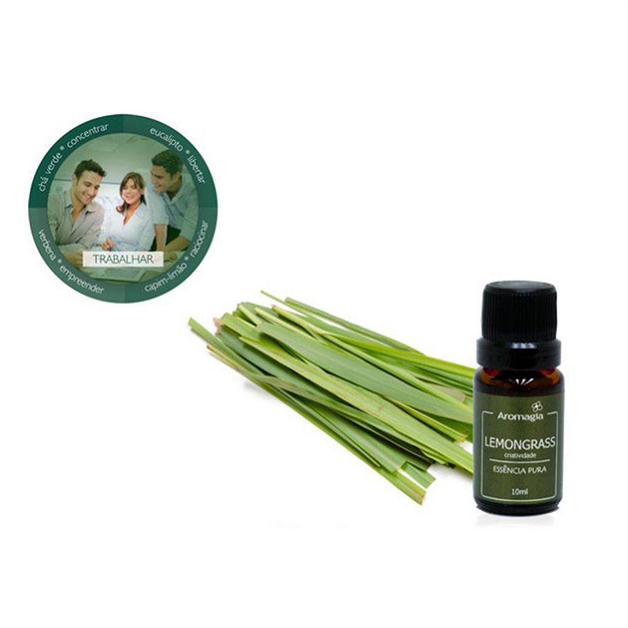 Essência Para Difusor Naturidêntica Lemongrass 10ml