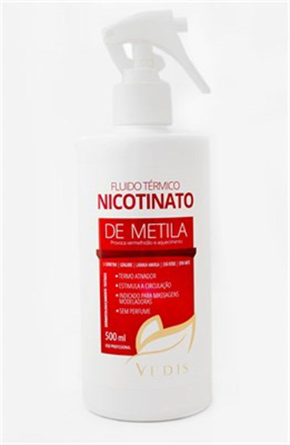 Fluído Térmico com Nicotinato de Metila 500ml Vedis