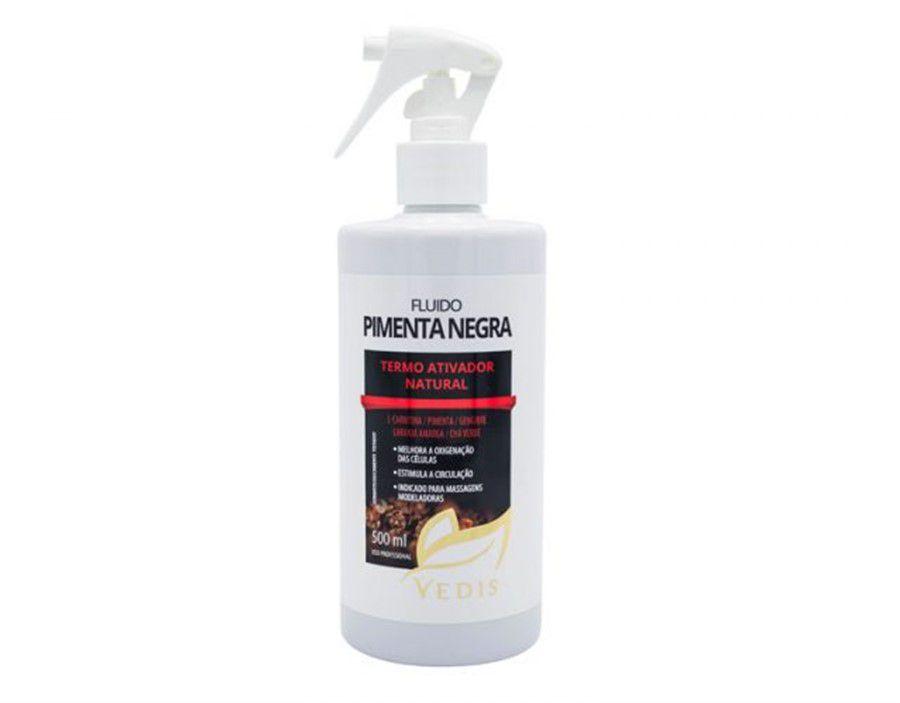 Fluído Térmico Pimenta Negra 500ml Vedis