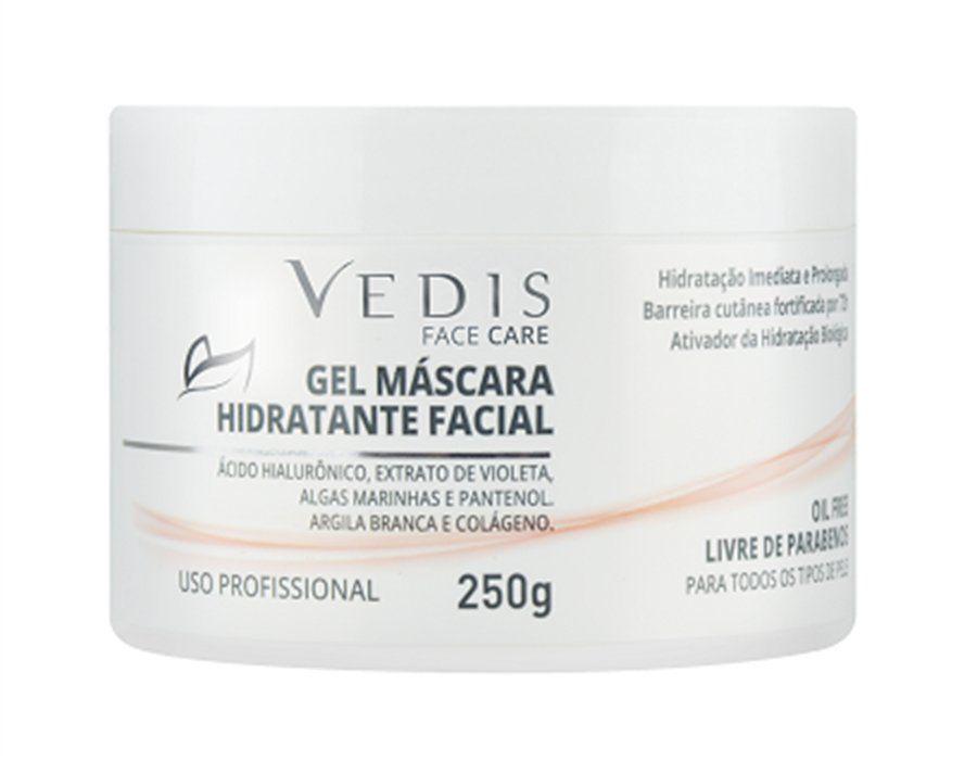 Gel Máscara Hidratante Facial Vedis 250g