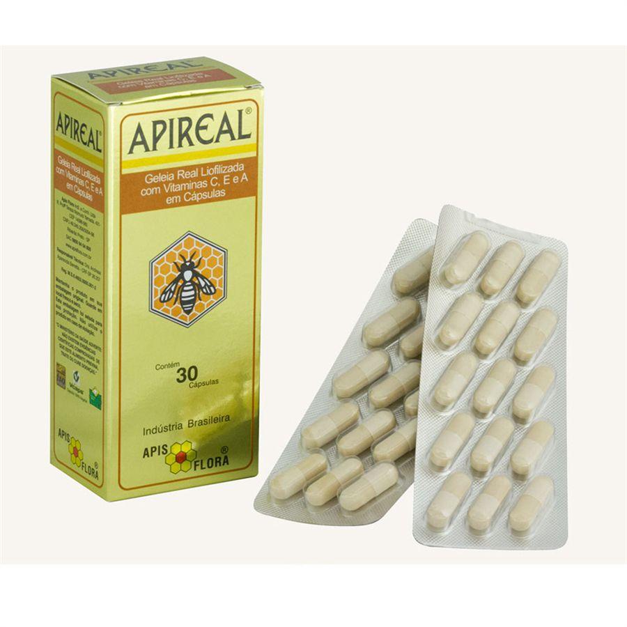 Geleia Real Liofilizada com 30 cápsulas