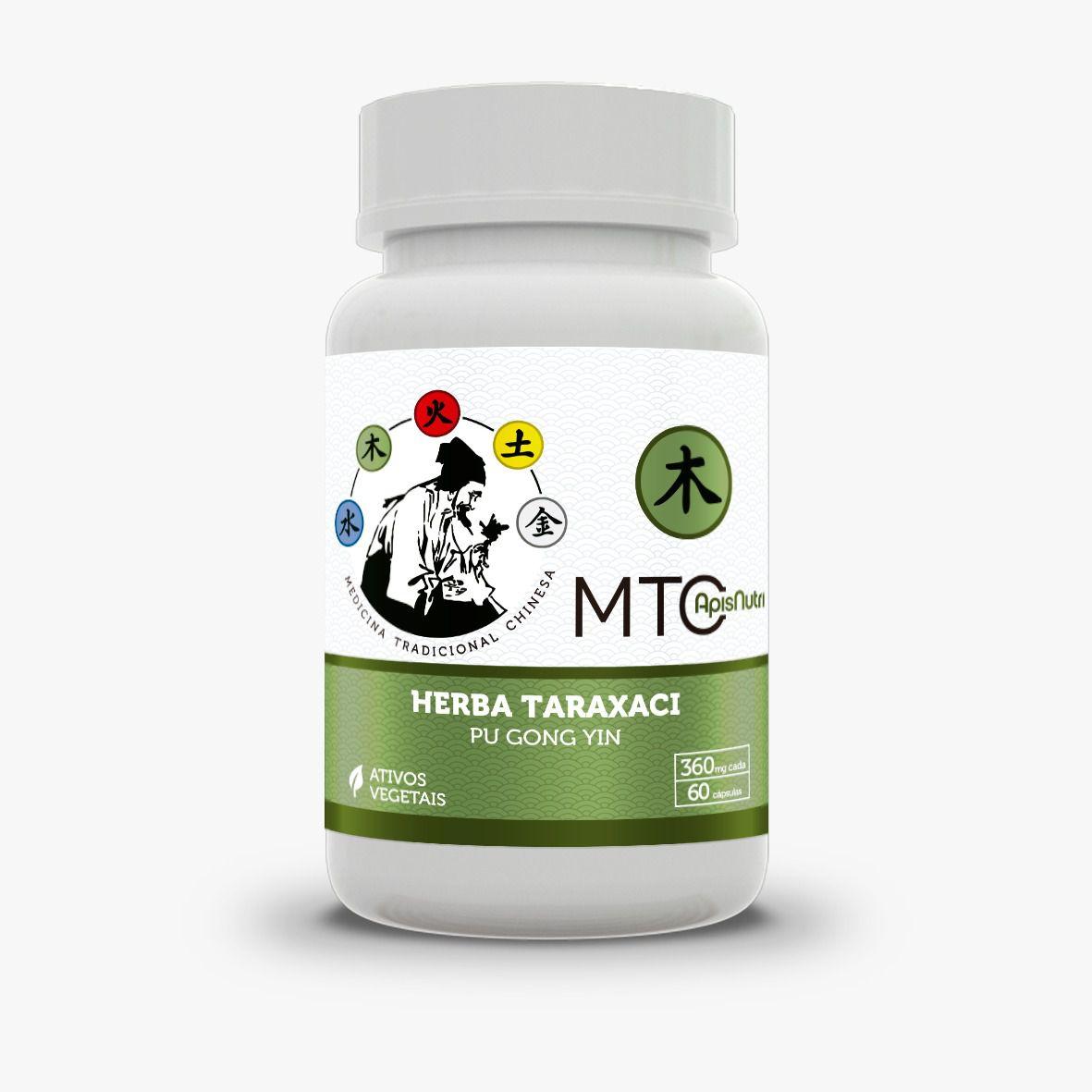 Herba Taraxaci - Dente de Leão c/60 cápsulas 360 mg