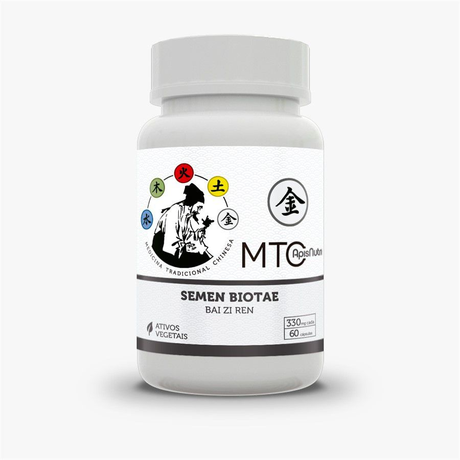 MTC Semen Biotae Bai Zi Ren Tuia c/60 cap