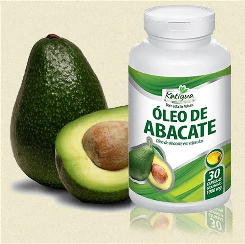 Óleo de Abacate 1000 mg c/30 cápsulas Katigua