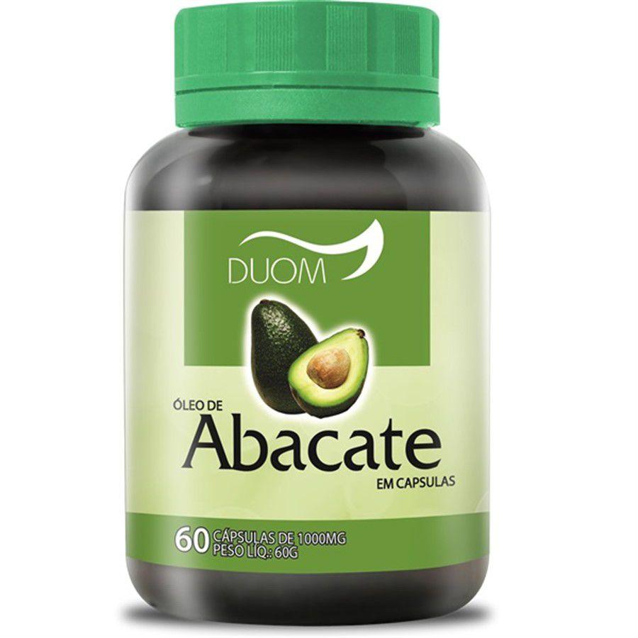 Óleo de Abacate de 1000 mg c/60 cap DUOM