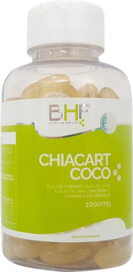 Óleo de Chia, Cártamo e Coco 1000mg c/120 cápsulas BHF