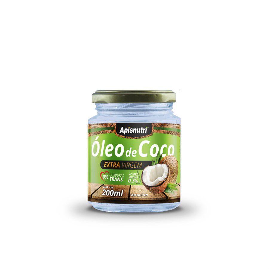 Óleo de Coco Extra Virgem c/200 ml