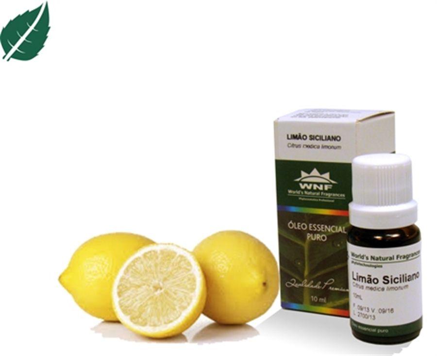 Óleo Essencial de Limão Siciliano 10 ml WNF