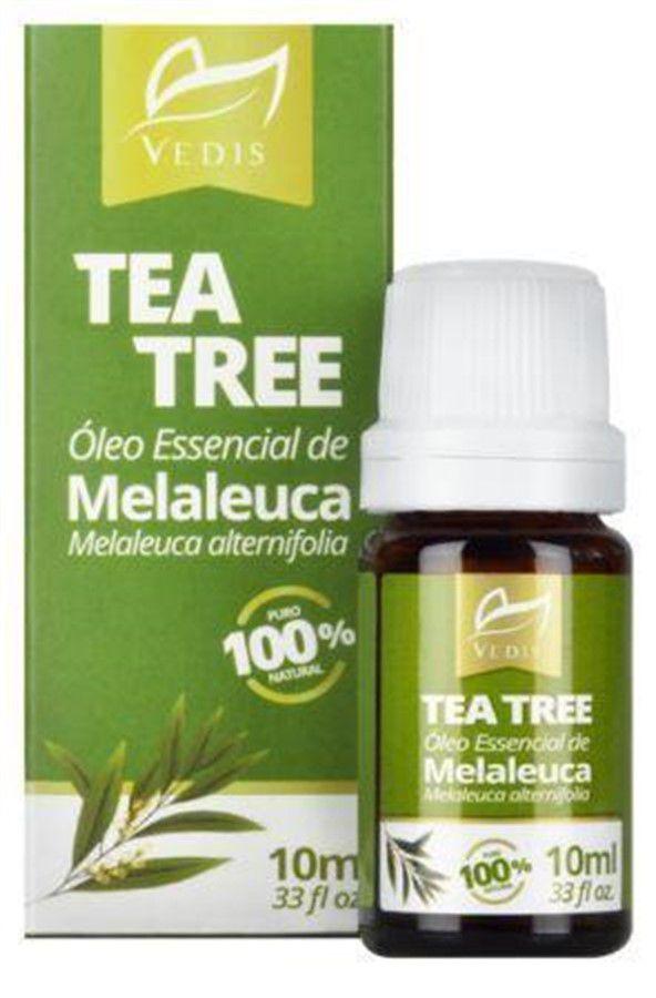 Óleo Essencial de Melaleuca 10ml Vedis