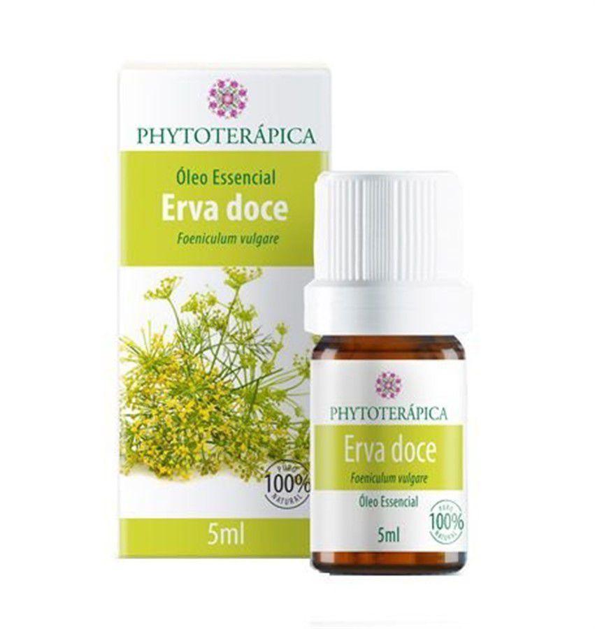 Óleo essencial Erva Doce(Funcho) 5ml Phytoterápica