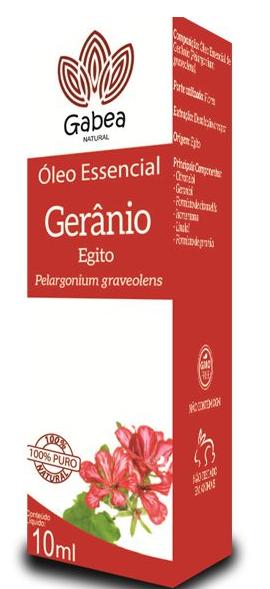 Óleo Essencial Gerânio 10 ml Gabea