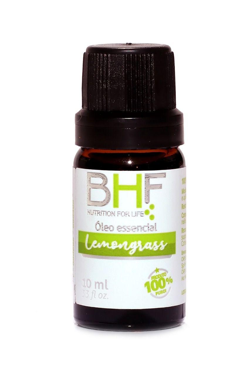 Óleo Essencial Lemongrass (Capim Limão) 10ml - BHF