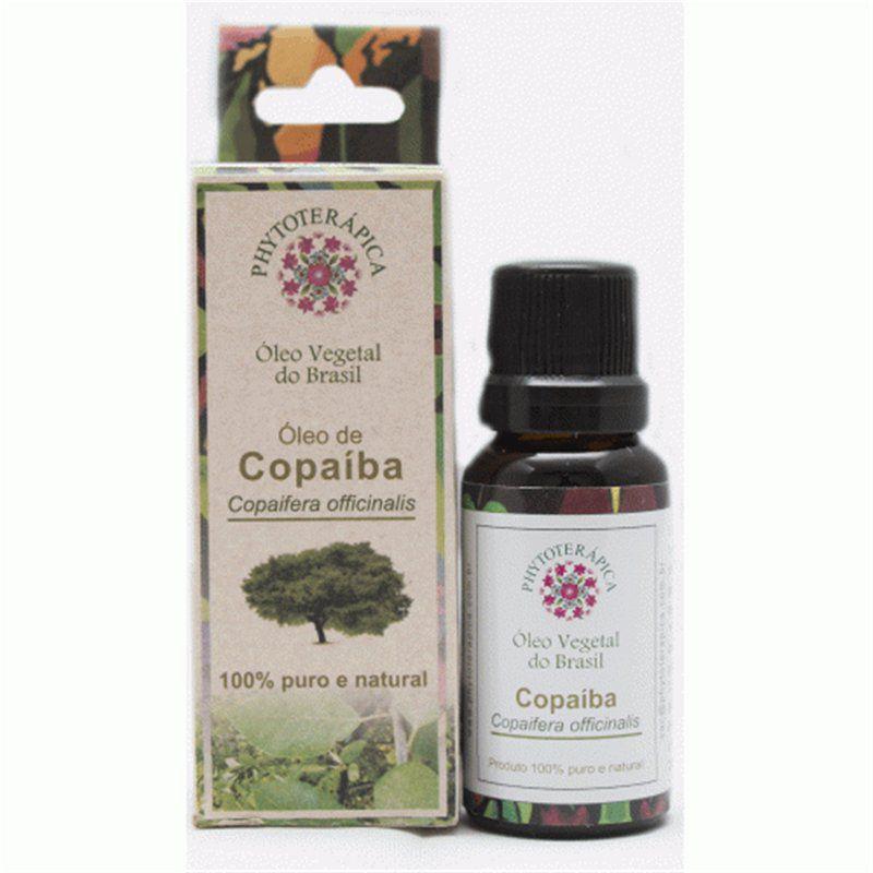 Óleo Vegetal de Copaiba 20ml Phytoterápica