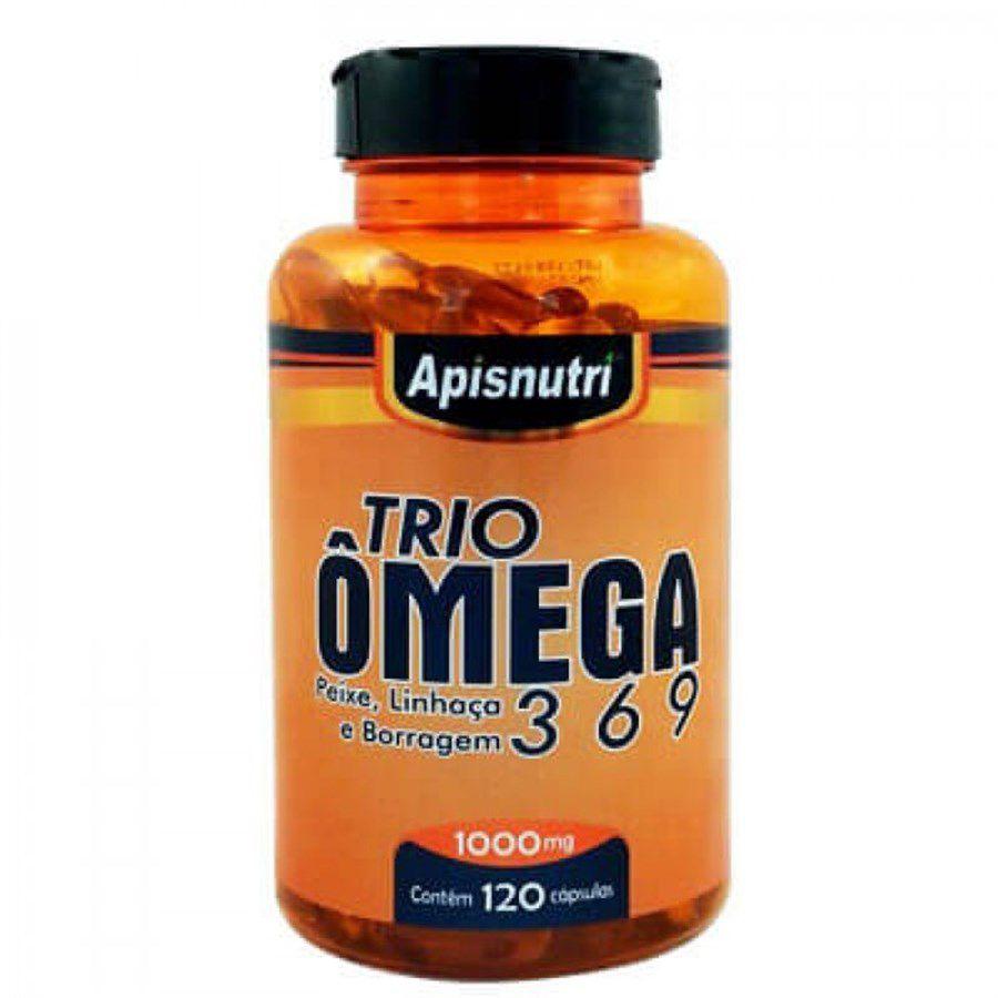 Ômega 3,6 e 9 1000mg c/120 cápsulas Apisnutri