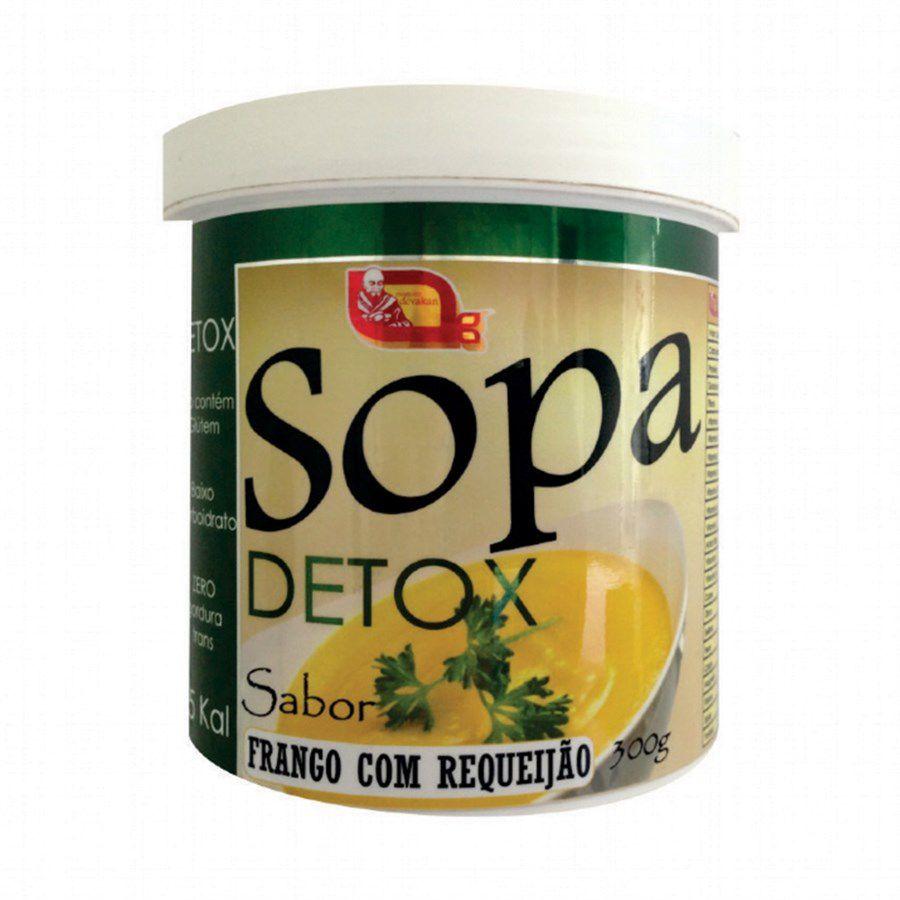 Sopa Detox 300g - Sabor Frango com Requeijão
