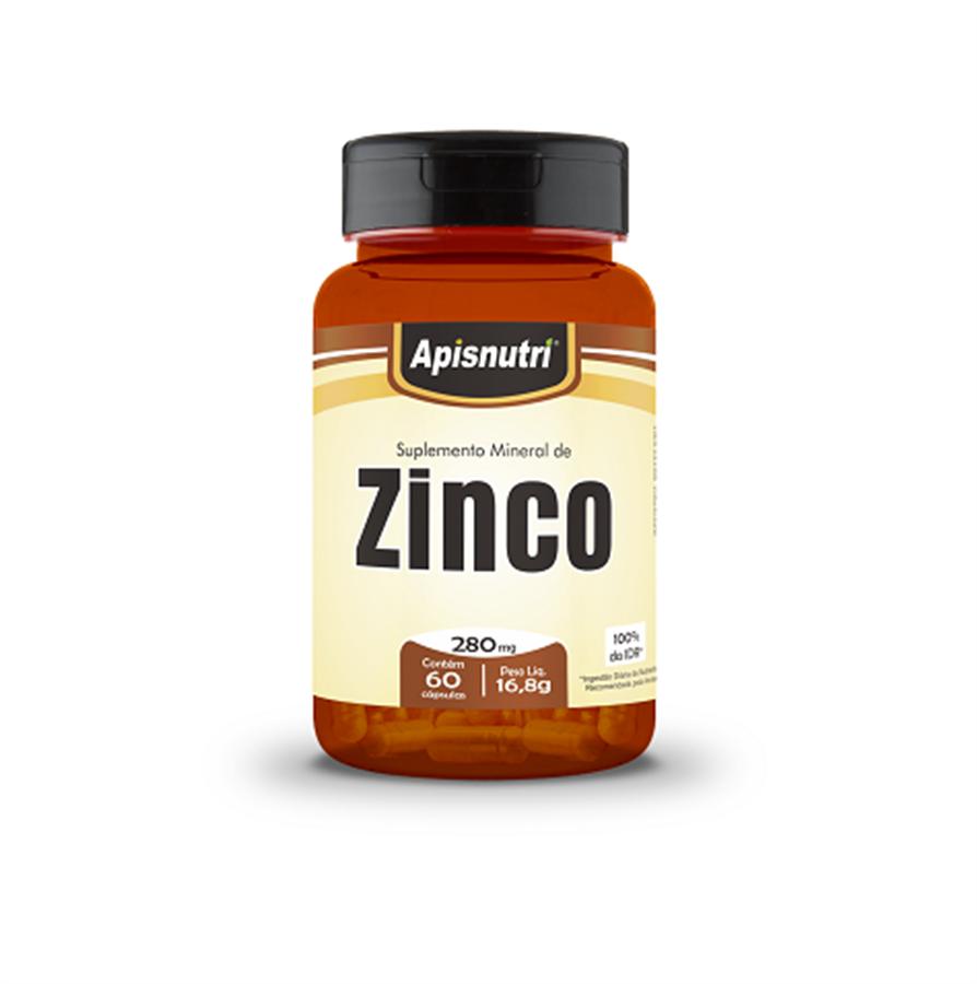 Suplemento Mineral de Zinco 280mg c/60 cápsulas