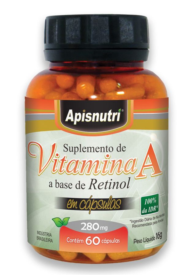 Vitamina A 280mg c/60 cápsulas
