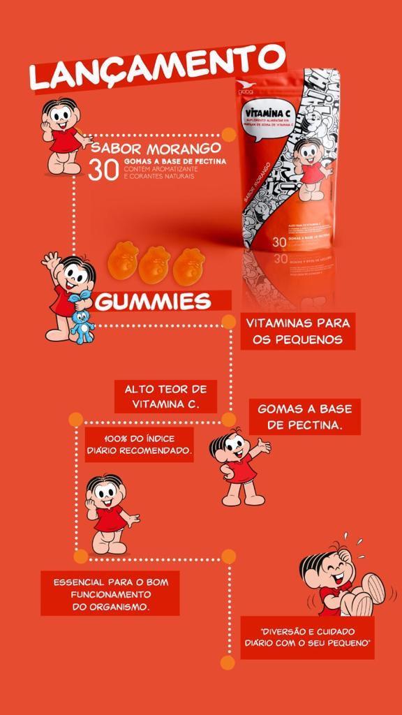 Vitamina C Turma da Mônica