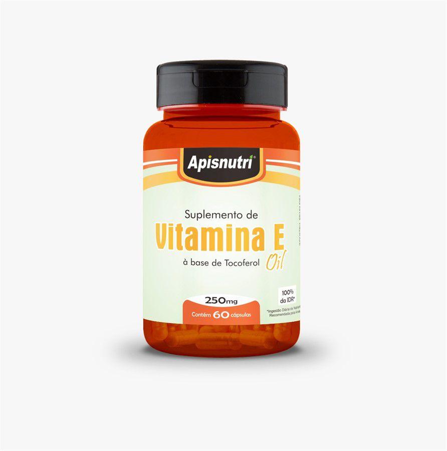 Vitamina E 250mg Oil c/60 cápsulas