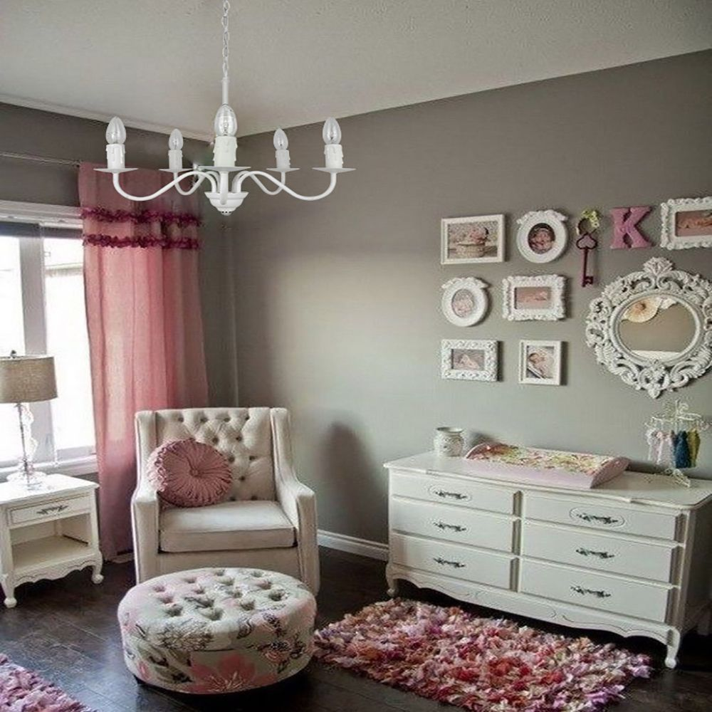 Lustre Pendente para quarto ou mesa 99x50x50 metal preto