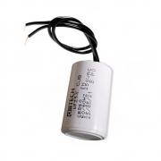 Capacitor com 2 Fios Metalizados para Motor 25UF 250 VAC MVM