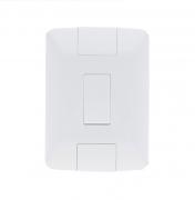 Conjunto 1 Interruptor 4x2 Simples Aria 57241001- Tramontina
